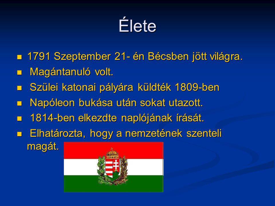Élete 1791 Szeptember 21- én Bécsben jött világra. Magántanuló volt.