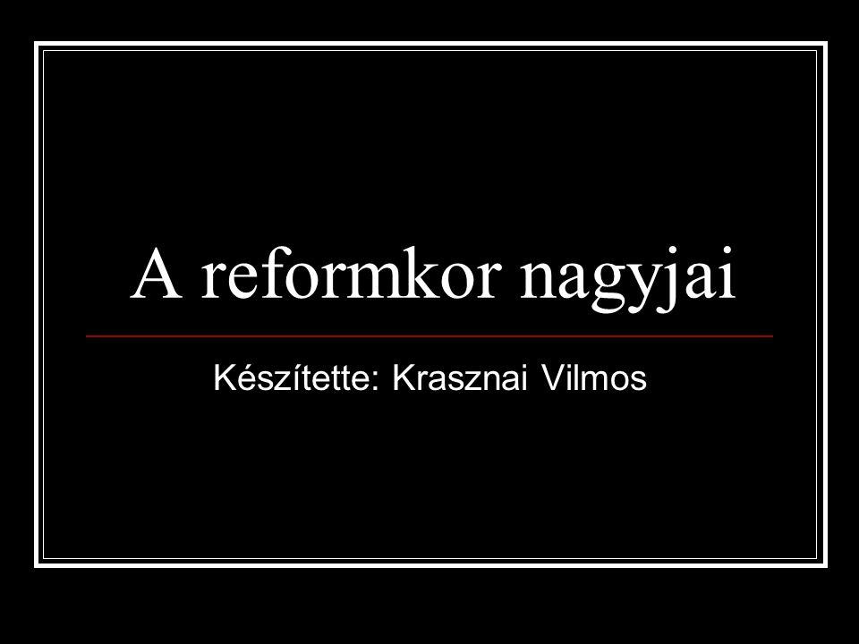 Készítette: Krasznai Vilmos
