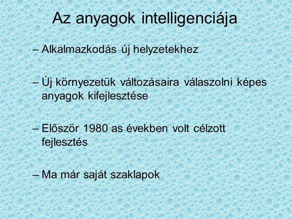 Az anyagok intelligenciája