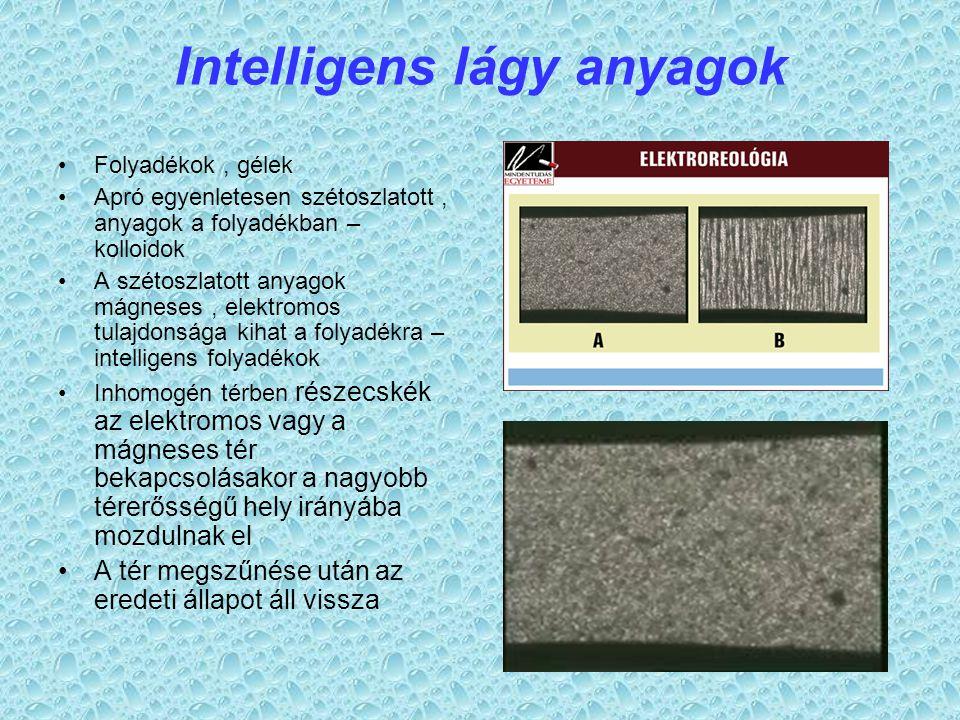 Intelligens lágy anyagok