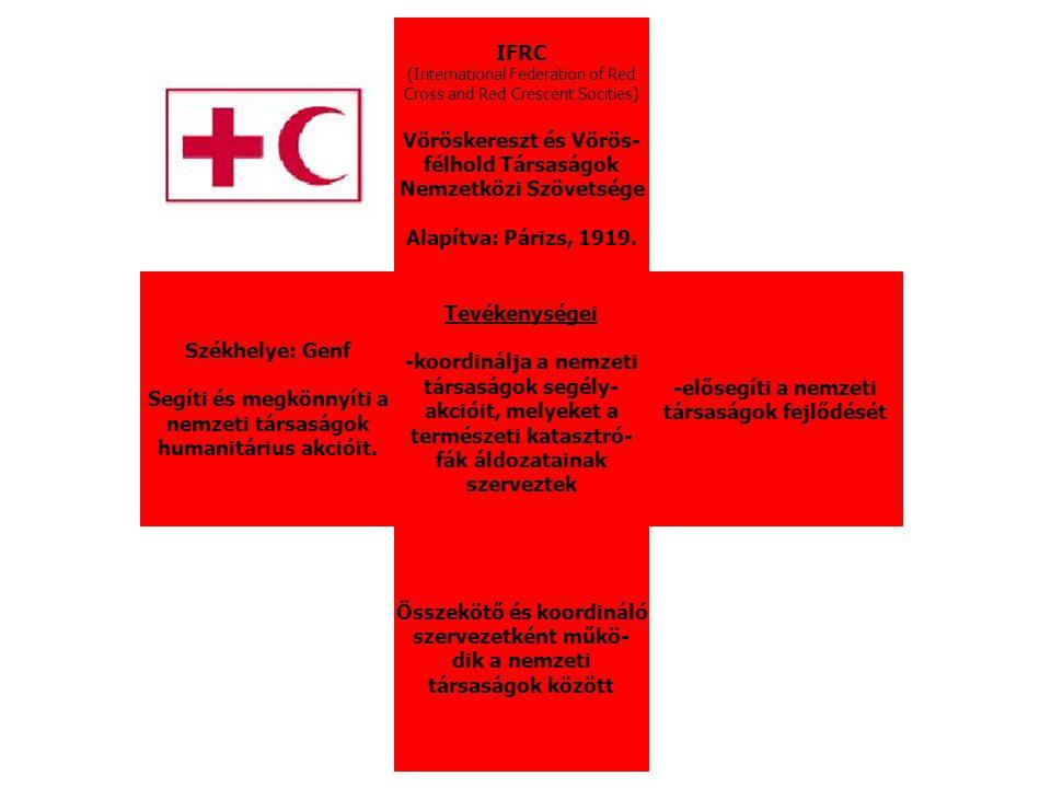 Vöröskereszt és Vörös- félhold Társaságok Nemzetközi Szövetsége