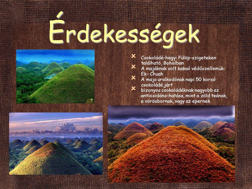 Érdekességek Csokoládé-hegy: Fülöp-szigeteken található, Boholban