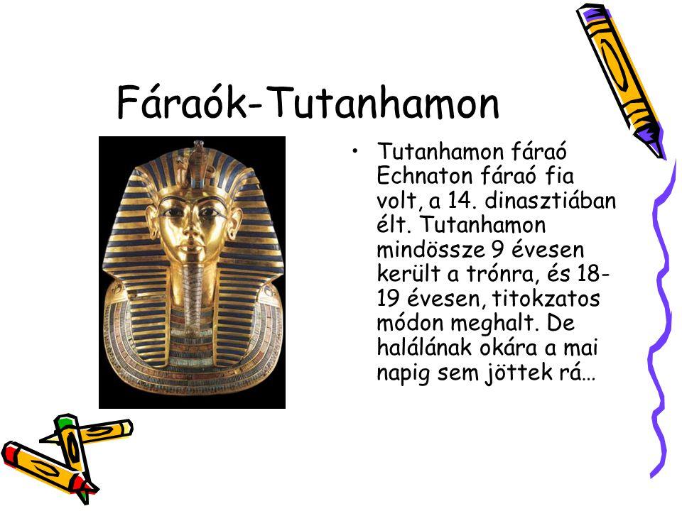 Fáraók-Tutanhamon