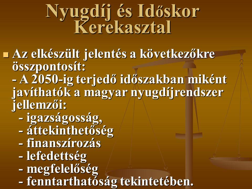 Nyugdíj és Időskor Kerekasztal