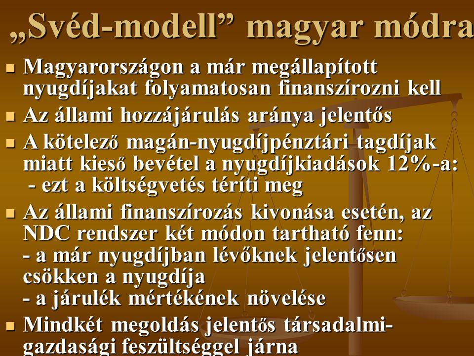 """""""Svéd-modell magyar módra"""