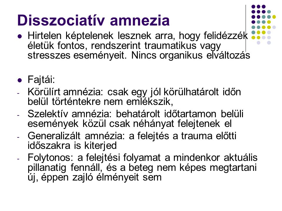 Disszociatív amnezia