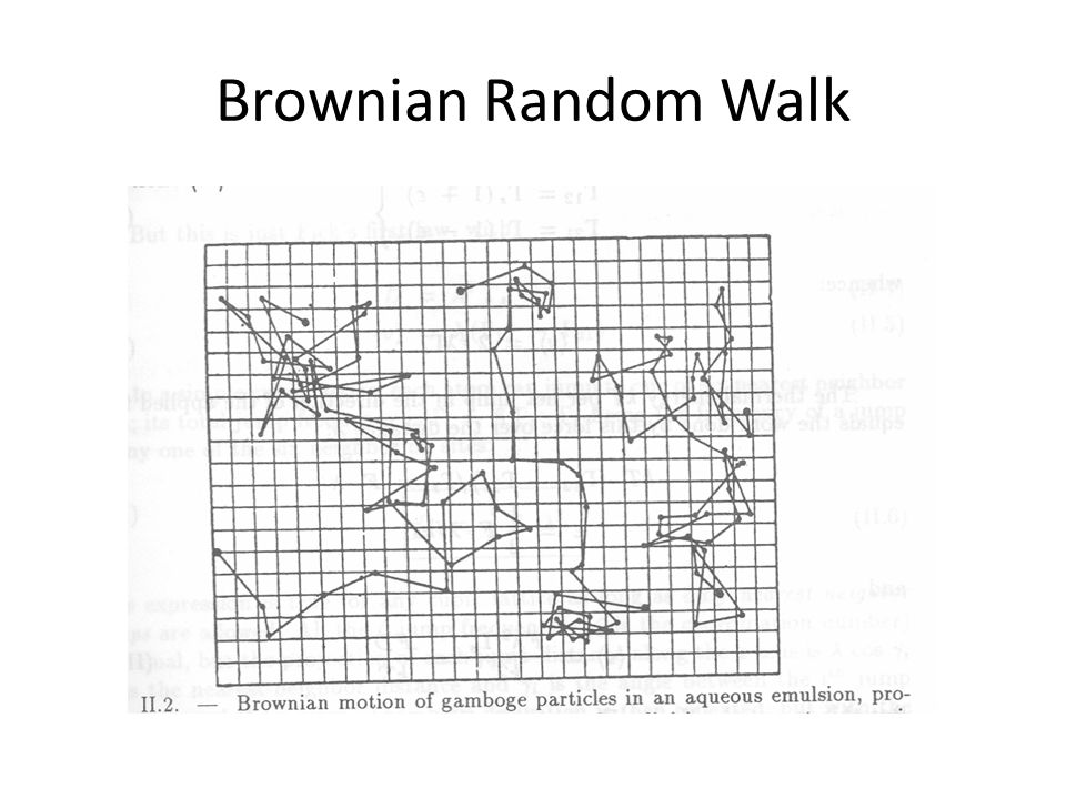 Brownian Random Walk