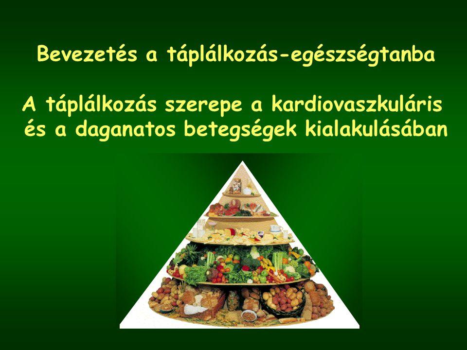 Bevezetés a táplálkozás-egészségtanba