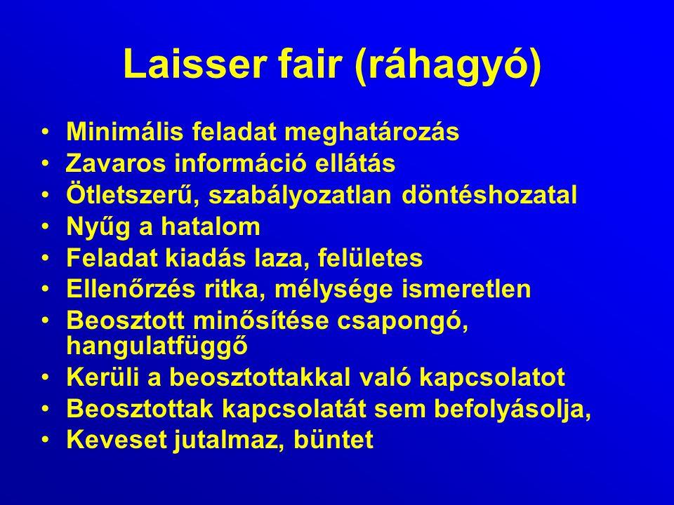 Laisser fair (ráhagyó)
