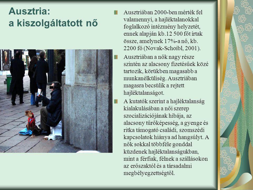 Ausztria: a kiszolgáltatott nő