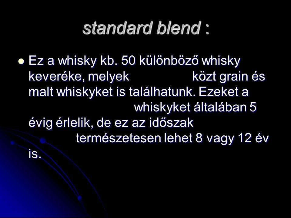 standard blend :