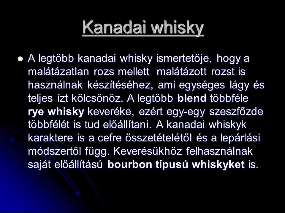 Kanadai whisky