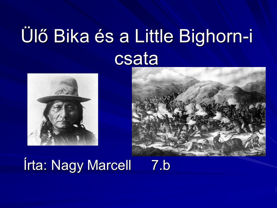 Ülő Bika és a Little Bighorn-i csata