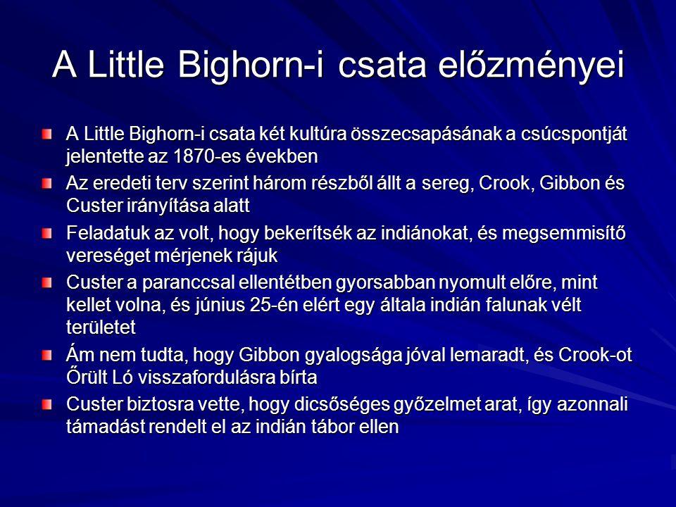 A Little Bighorn-i csata előzményei