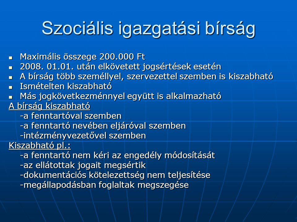 Szociális igazgatási bírság