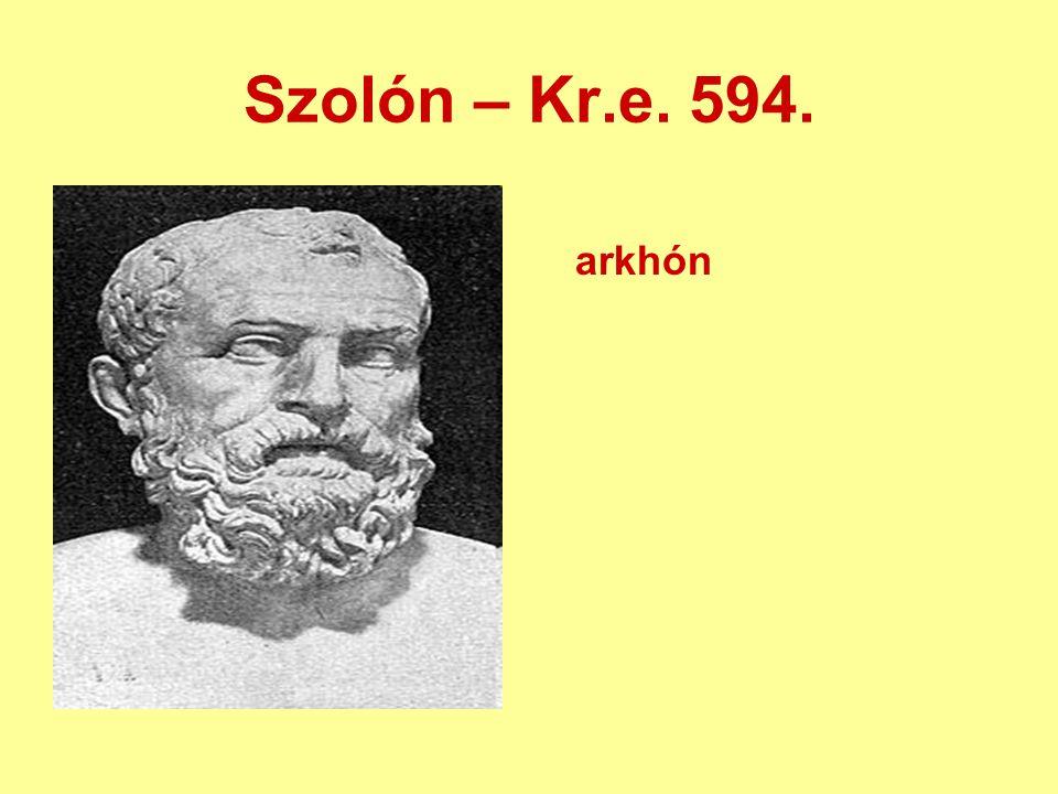 Szolón – Kr.e. 594. arkhón