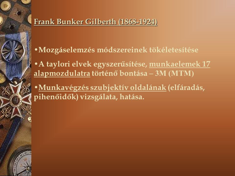 Frank Bunker Gilberth (1868-1924)