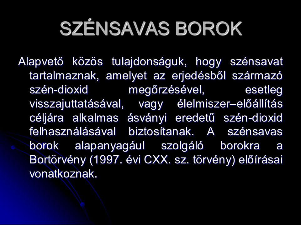 SZÉNSAVAS BOROK
