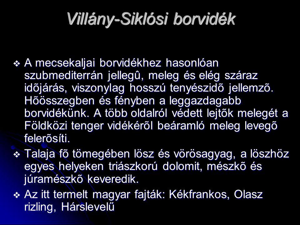 Villány-Siklósi borvidék