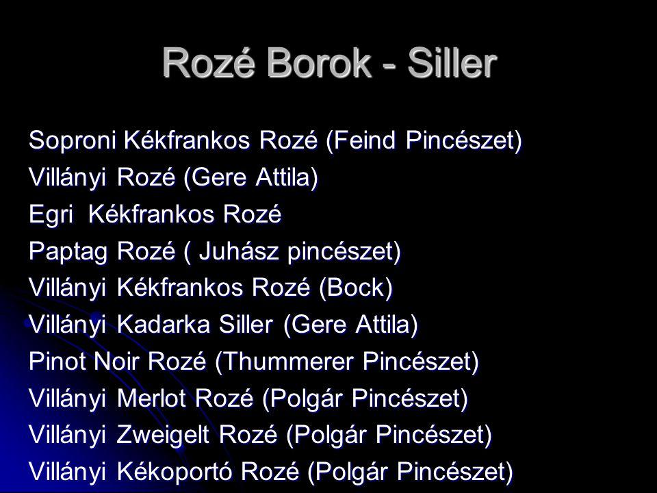 Rozé Borok - Siller Soproni Kékfrankos Rozé (Feind Pincészet)