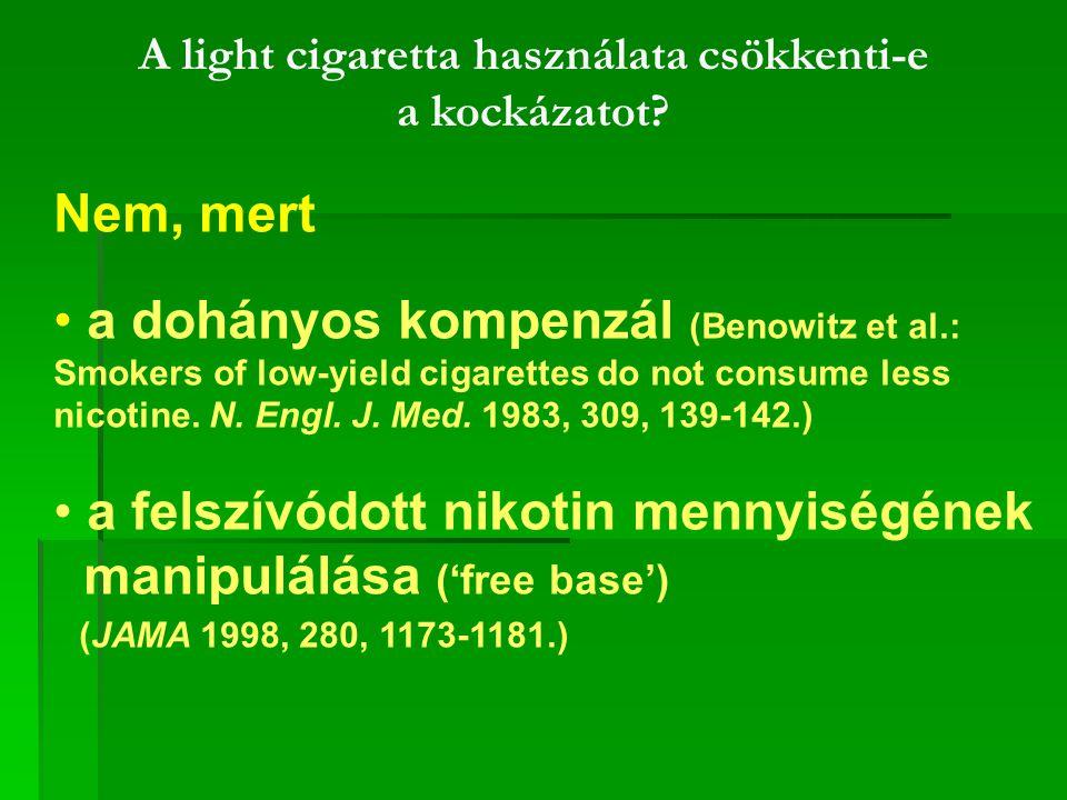 A light cigaretta használata csökkenti-e