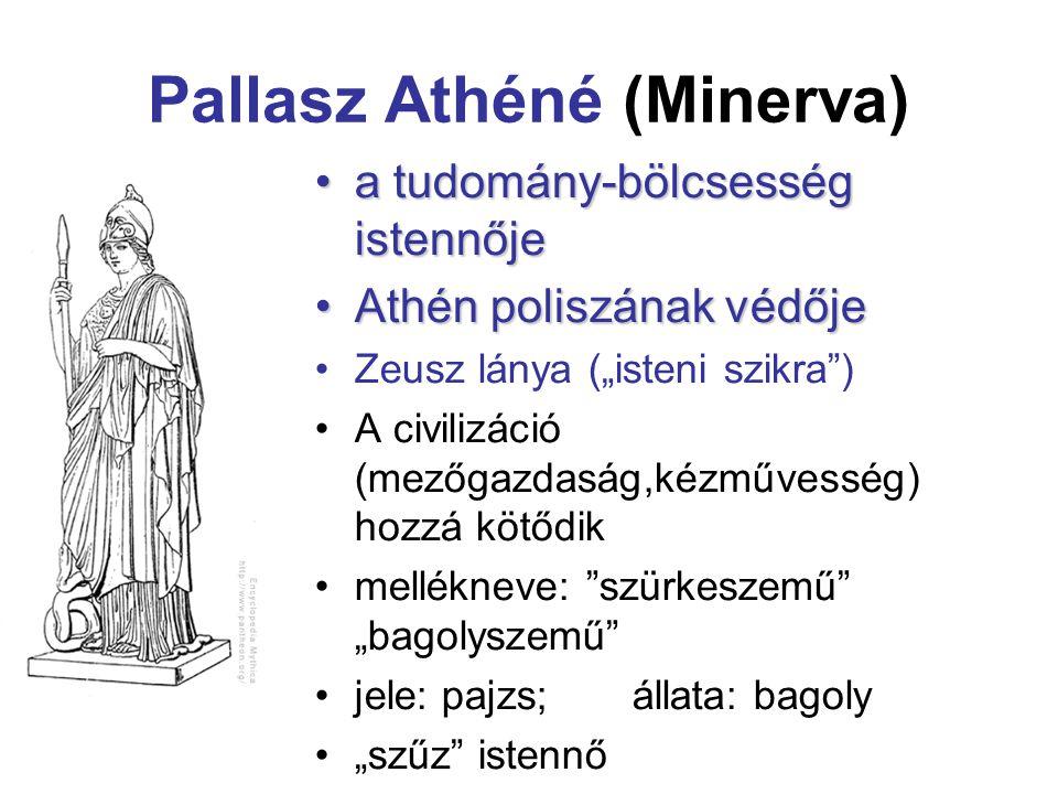 Pallasz Athéné (Minerva)