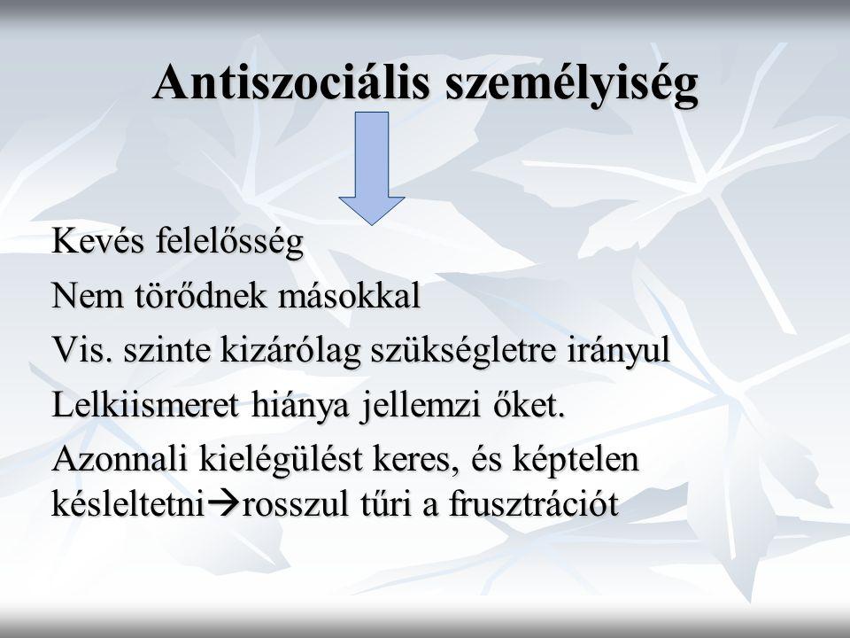 Antiszociális személyiség