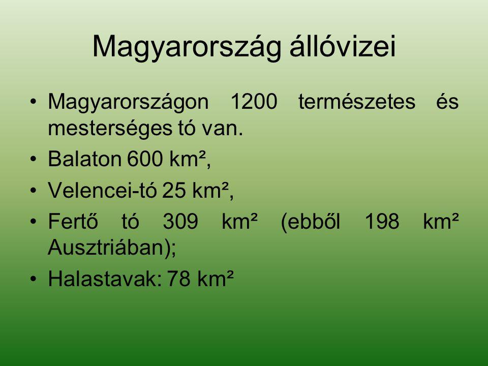 Magyarország állóvizei