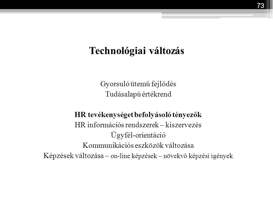 Technológiai változás