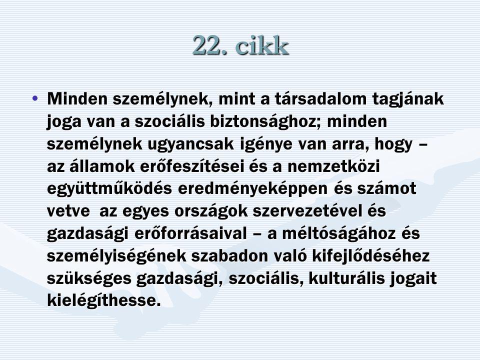 22. cikk
