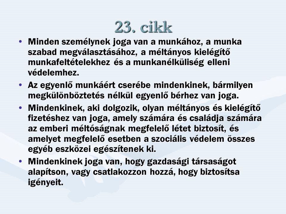 23. cikk