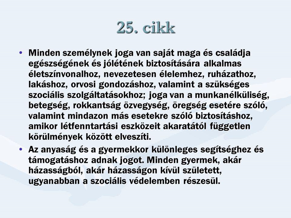 25. cikk