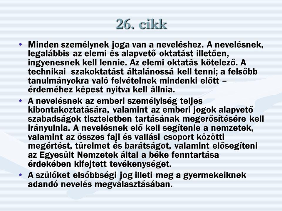 26. cikk