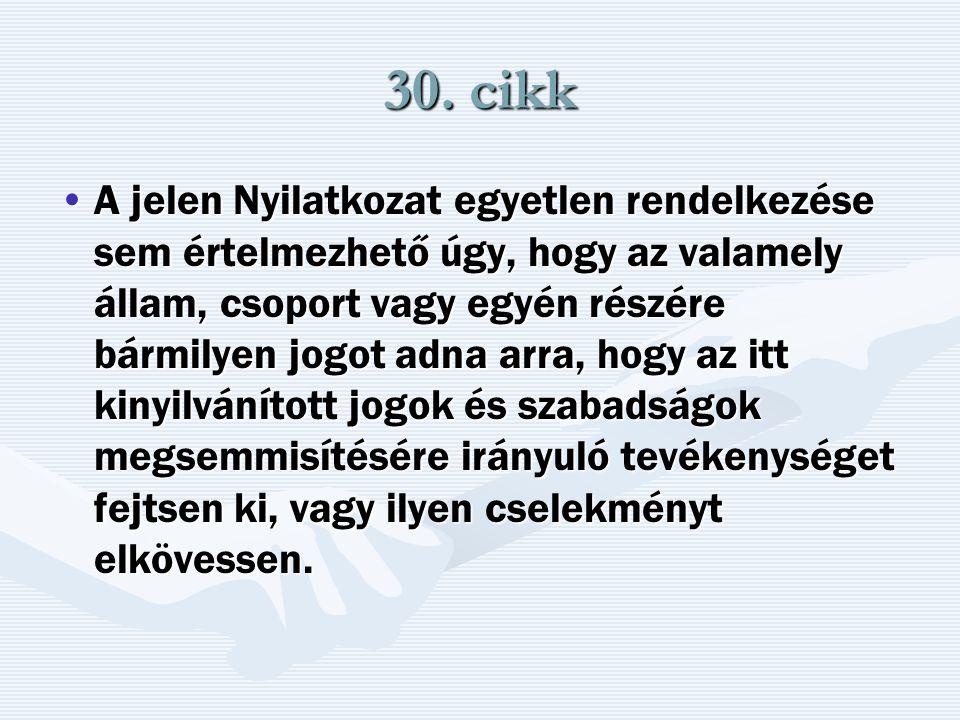 30. cikk