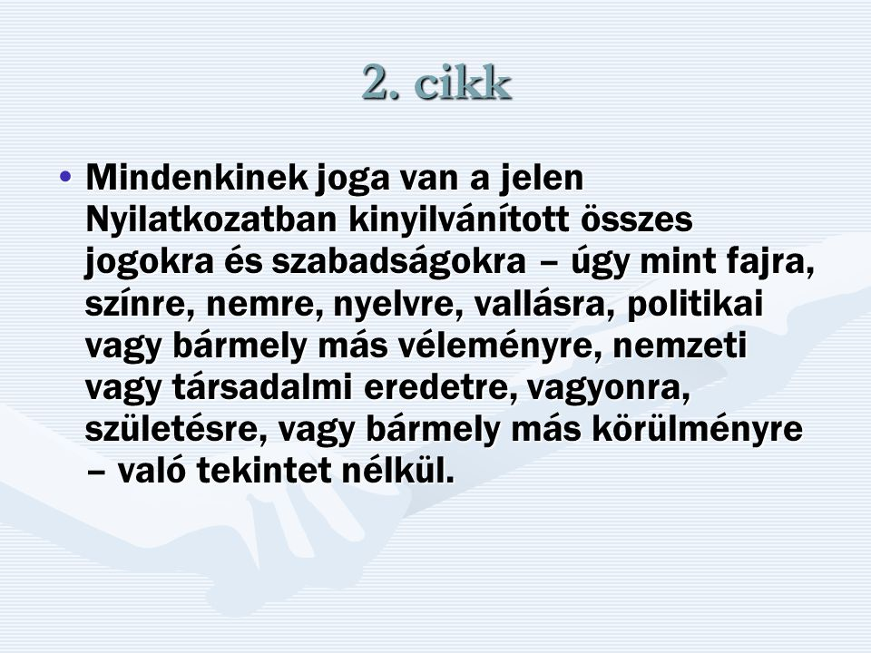 2. cikk