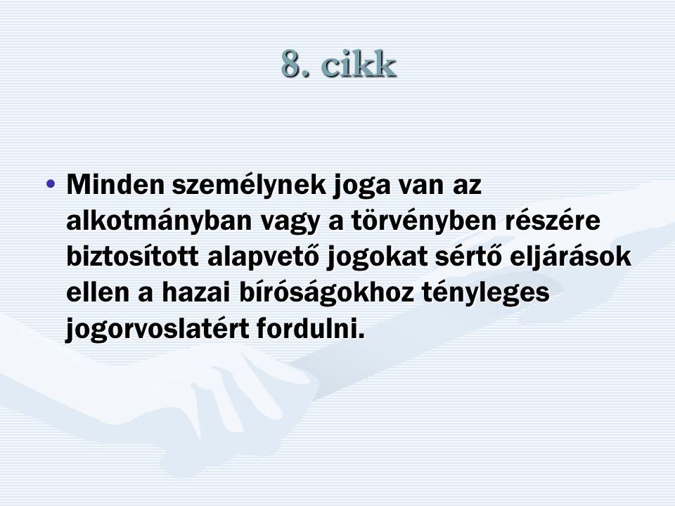 8. cikk
