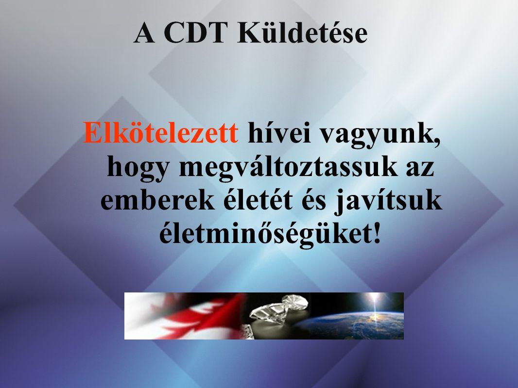 53535353 A CDT Küldetése.