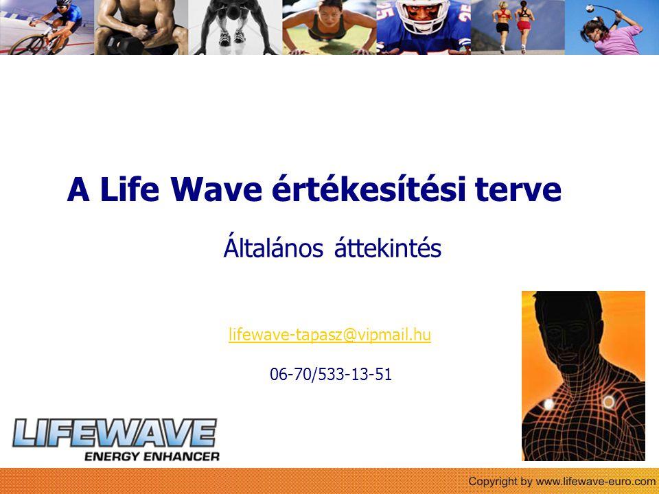 A Life Wave értékesítési terve