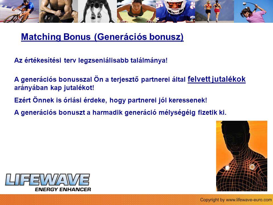 Matching Bonus (Generációs bonusz)
