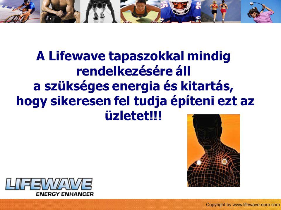 A Lifewave tapaszokkal mindig rendelkezésére áll