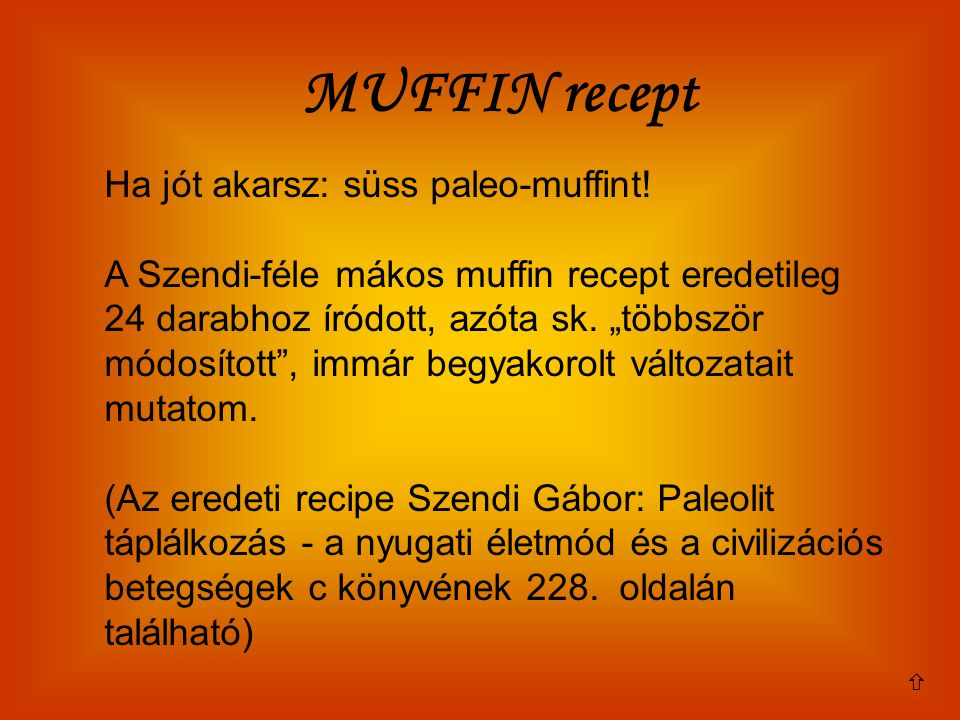 MUFFIN recept Ha jót akarsz: süss paleo-muffint!