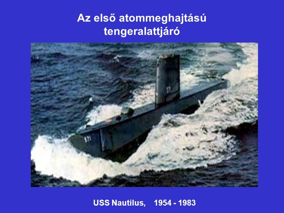 Az első atommeghajtású tengeralattjáró