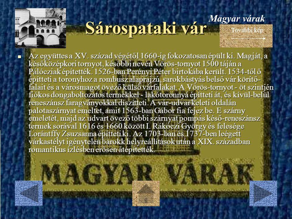 Sárospataki vár Magyar várak
