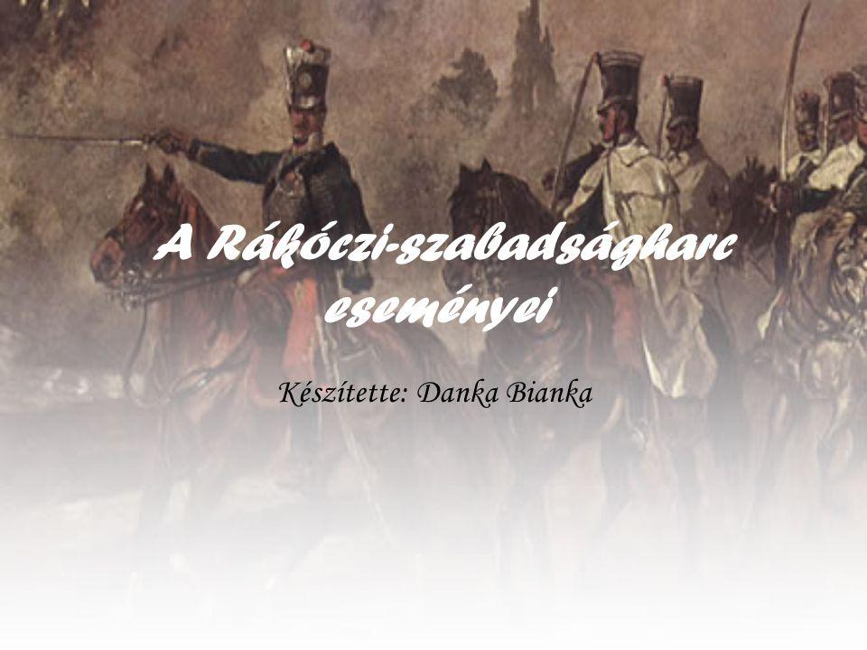 A Rákóczi-szabadságharc eseményei