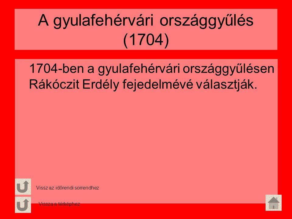 A gyulafehérvári országgyűlés (1704)