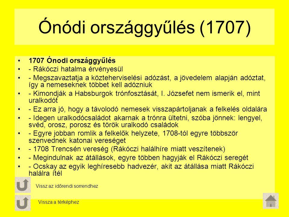 Ónódi országgyűlés (1707) 1707 Ónodi országgyűlés