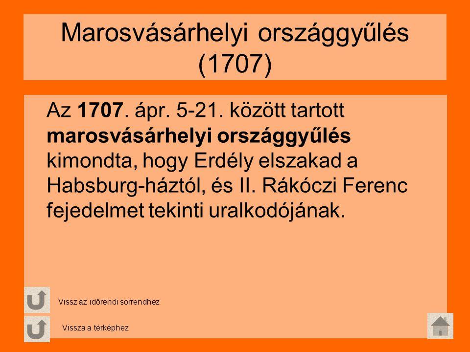 Marosvásárhelyi országgyűlés (1707)