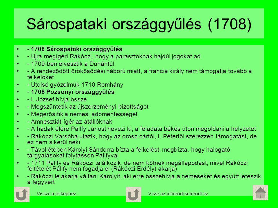 Sárospataki országgyűlés (1708)