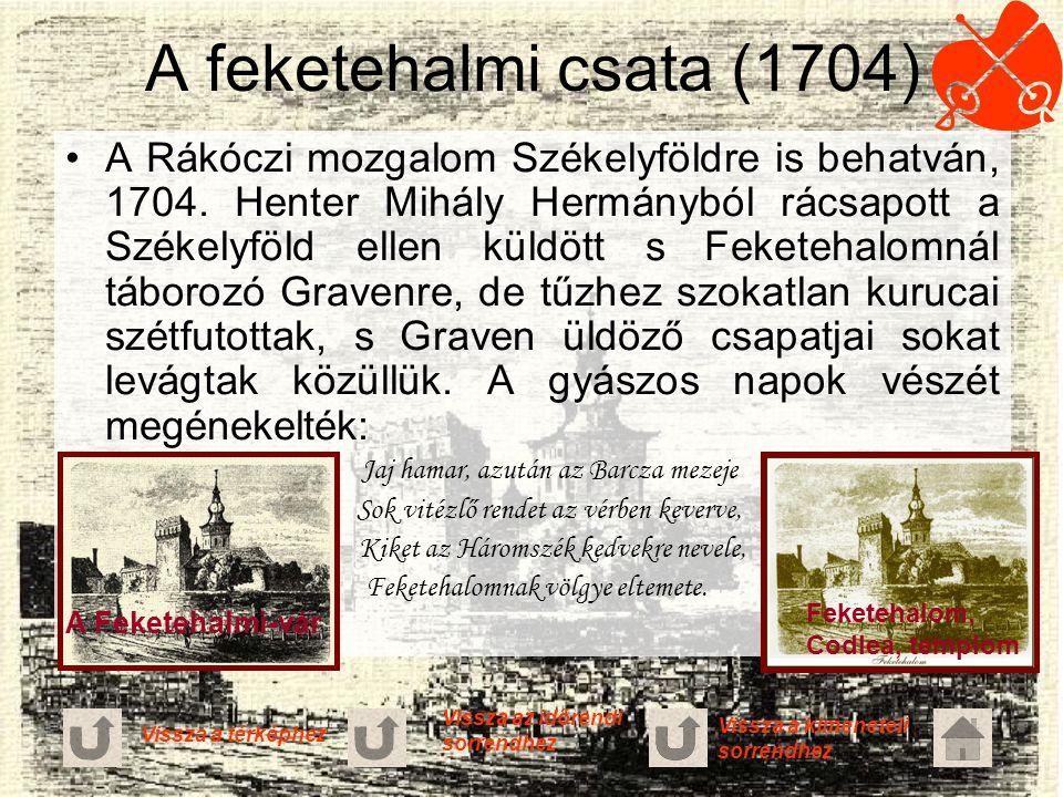 A feketehalmi csata (1704)