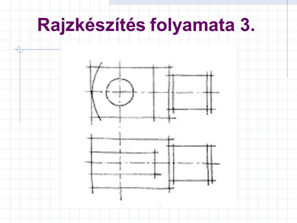 Rajzkészítés folyamata 3.